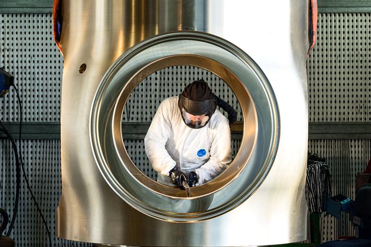 fabricación turbina
